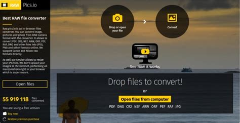 6+ Best Raw File Converter Software Free Download for