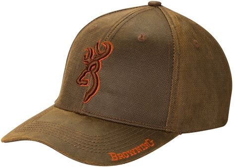 Achat / Vente casquette Browning Rhino Brun et Rouge pas