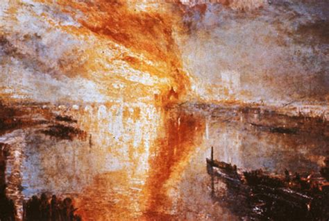The Burning of the Houses of Parliament | Musée historique
