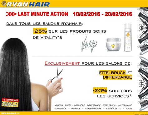Last Minute Action 02/2016   Ryanhair - First Quality