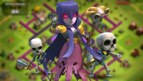 Clash of Clans Witch Guide - How and When to use this unit