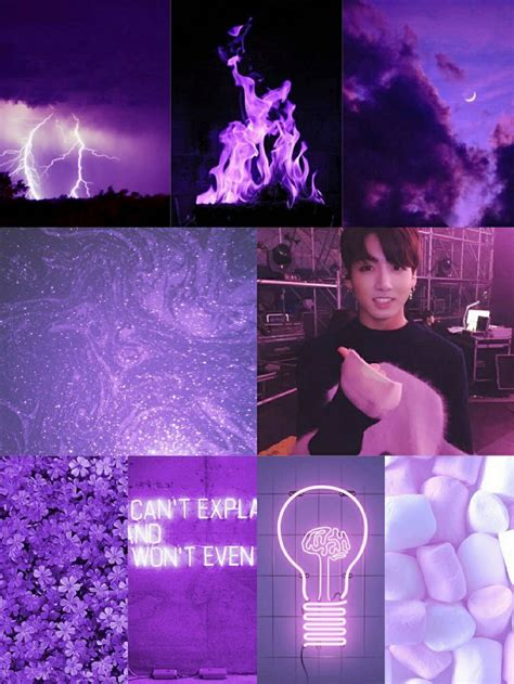 Purple Jungkook aesthetic~ by tina | WHI
