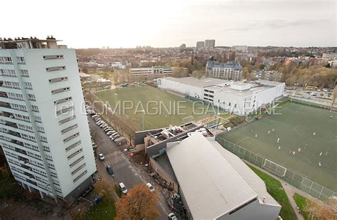 The Sippelberg football stadium and fields in Molenbeek
