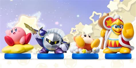 New Kirby, King Dedede, Meta Knight and Waddle Dee Amiibo