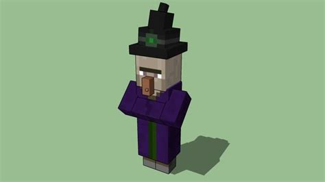 Minecraft Witch! Careful! witches are very mean! They