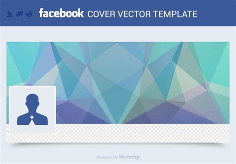 Free Facebook Cover Vector Template - Download Free Vector