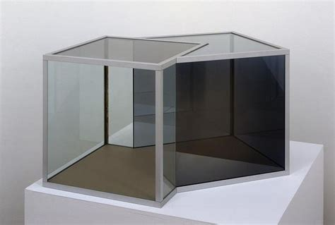 Dan Graham, Two Cubes, One Cube Rotated 45° ← Acquisitions