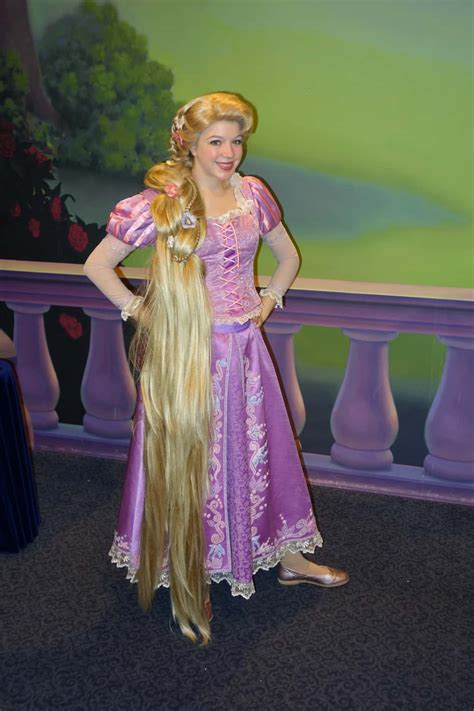 Rapunzel at Town Square Theater in Magic Kingdom