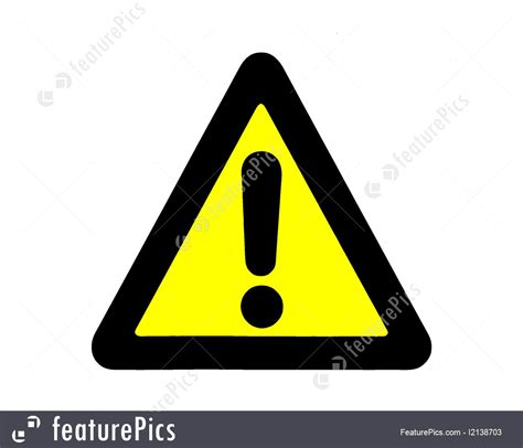 Signs And Info: Danger Signal - Stock Picture I2138703 at