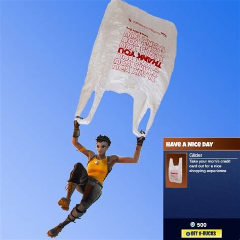 I want this glider - Fortnite Battle Royale