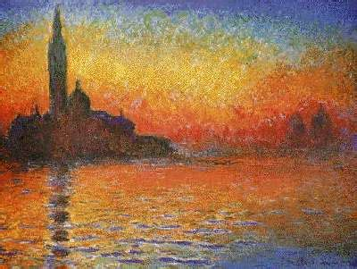 Monet paintings of Venice, picture poster print by Claude