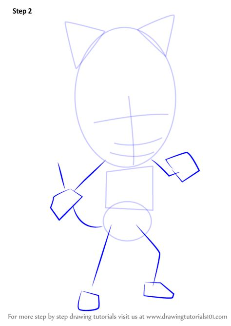 Step by Step How to Draw Catboy from PJ Masks