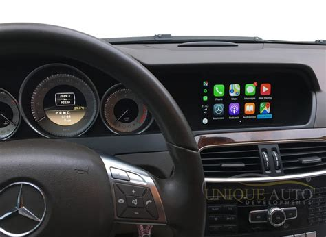 Wireless Apple CarPlay Android Auto Interface for Mercedes