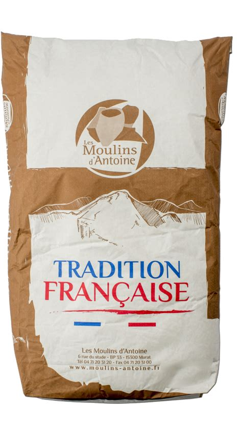 Farine Tradition Française - Type 65 : Moulins Antoine