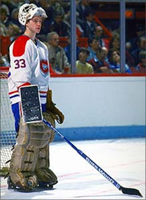 In his rookie season with the Montreal Canadiens in 1985