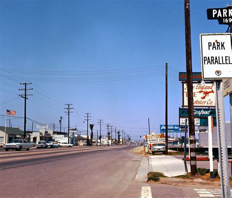 Pacific Coast Highway, Sunset Beach, 1966   There are no