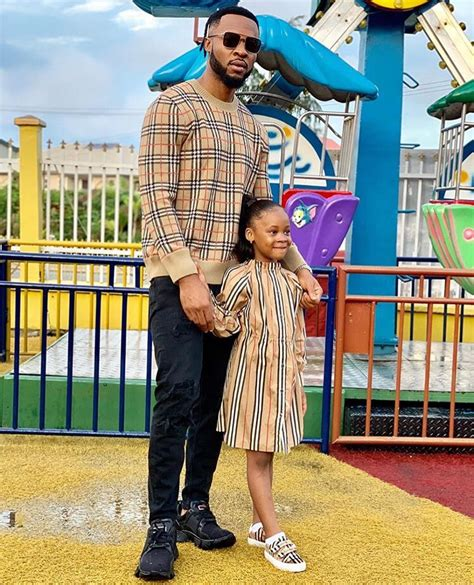 Flavour & Sandra Okagbue's Daughter had a Super Cute 5th