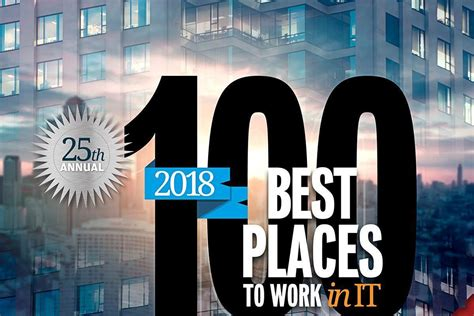 Best Places to Work in IT 2018 | Computerworld