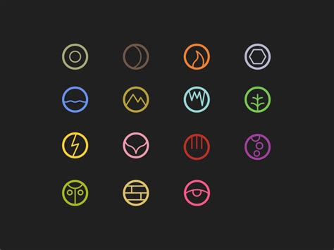 Elements as Icons by Rayniel Estrella on Dribbble